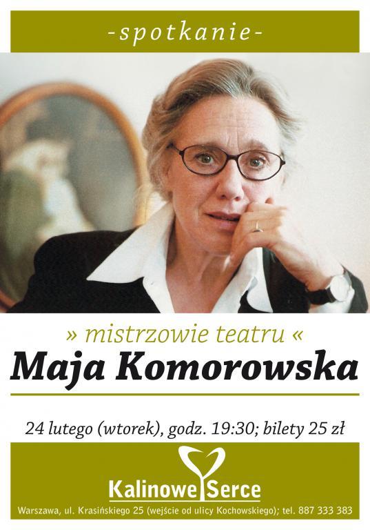 Maja Komorowska - mistrzowie teatru