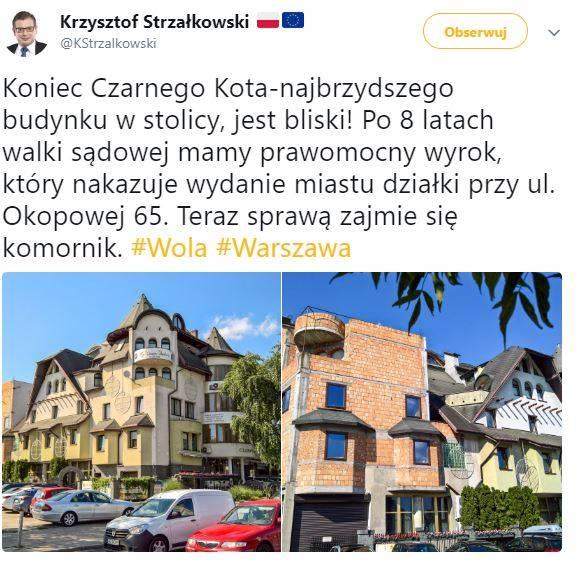 Koniec Czarnego Kota Czy Miasto W Końcu Odzyska Działkę Warszawa